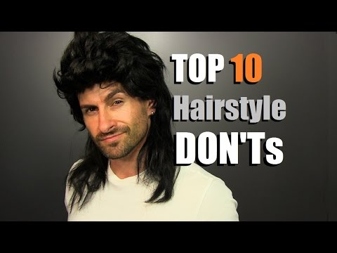 TOP 10 Men's Hairstyle DON'Ts | How To Avoid Hair That SUCKS