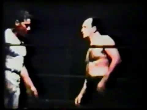 Film of Ron Wright vs. Whitey Caldwell October 1962