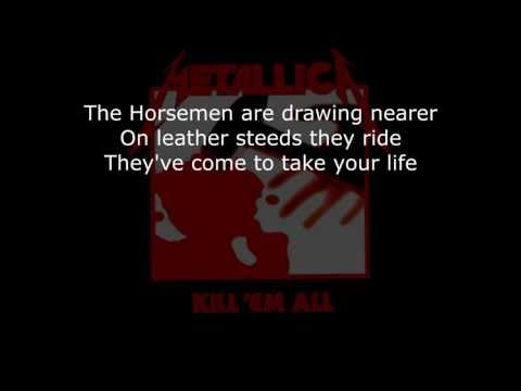 Metallica  The Four Horsemen Lyrics (HD)