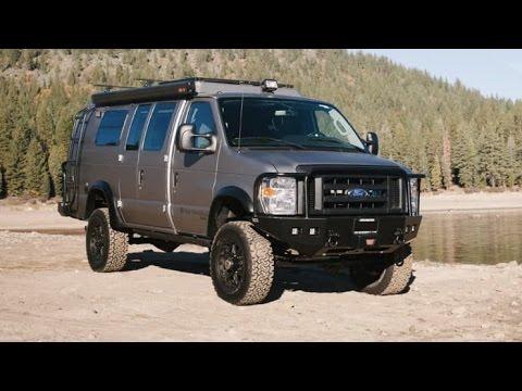 sportsmobile custom-built 4x4 camper van - youtube