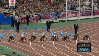 Athens 2004 Olympics 100m Men
