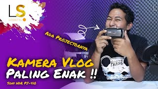 #Review, Sony HDR-PJ410 Kamera Vlog Paling Enak