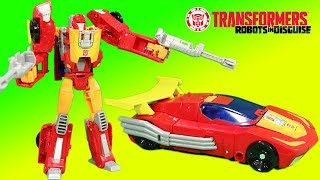Transformers Generations Hot Rod & Titans Return Deluxe Class Firedrive save the day!