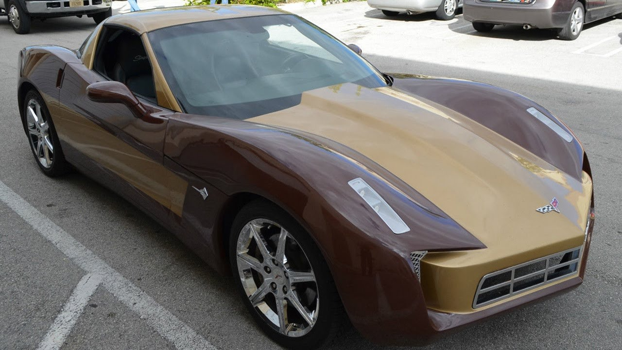 ebay find of the day two tone c6 corvette - YouTube