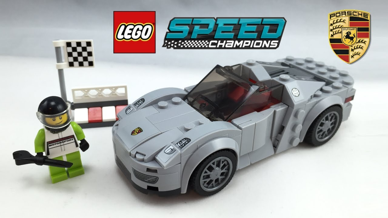 lego porsche 918 spyder speed champions set review 75910 youtube. Black Bedroom Furniture Sets. Home Design Ideas