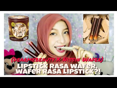 review-dear-me-beauty-x-nissin-wafer-(lipstick-rasa-wafer-coklat?)