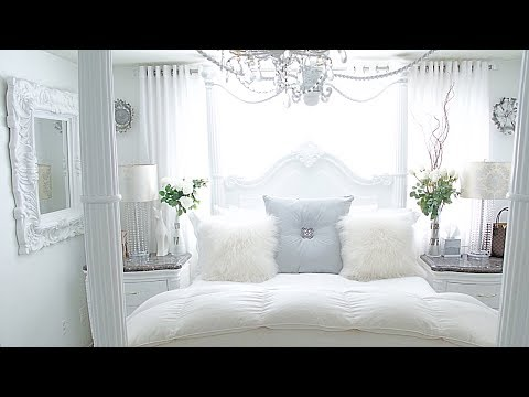 Bedroom Tour Glam Home Tour Room Decor Makeover Spring bedroom Decorating Ideas 2019