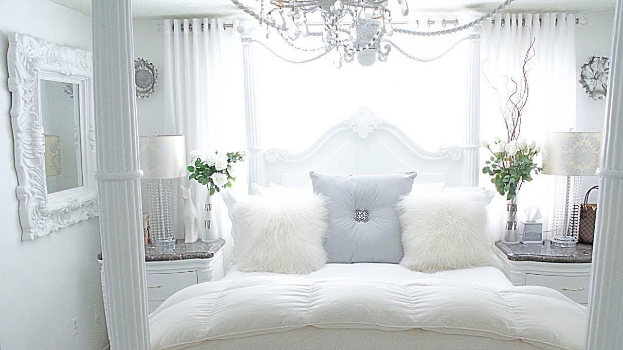 Bedroom Tour Glam Home Tour Room Decor Makeover Spring bedroom Decorating Ideas 2019