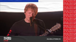 Download Mp3 Ed Sheeran Performs Shivers in Front of the Eiffel Tower in Paris Global Citizen Live