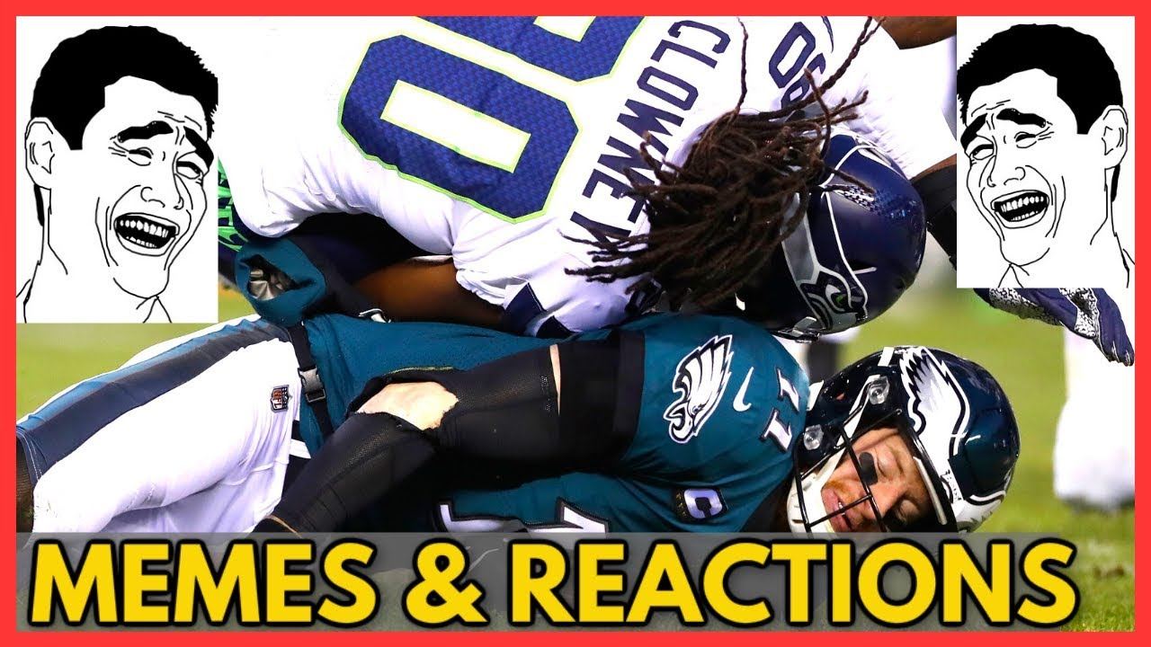 Eagles Vs Seahawks Nfl Playoffs 2020 Memes Reactions Of Post Game Analysis Full Game Highlights Youtube