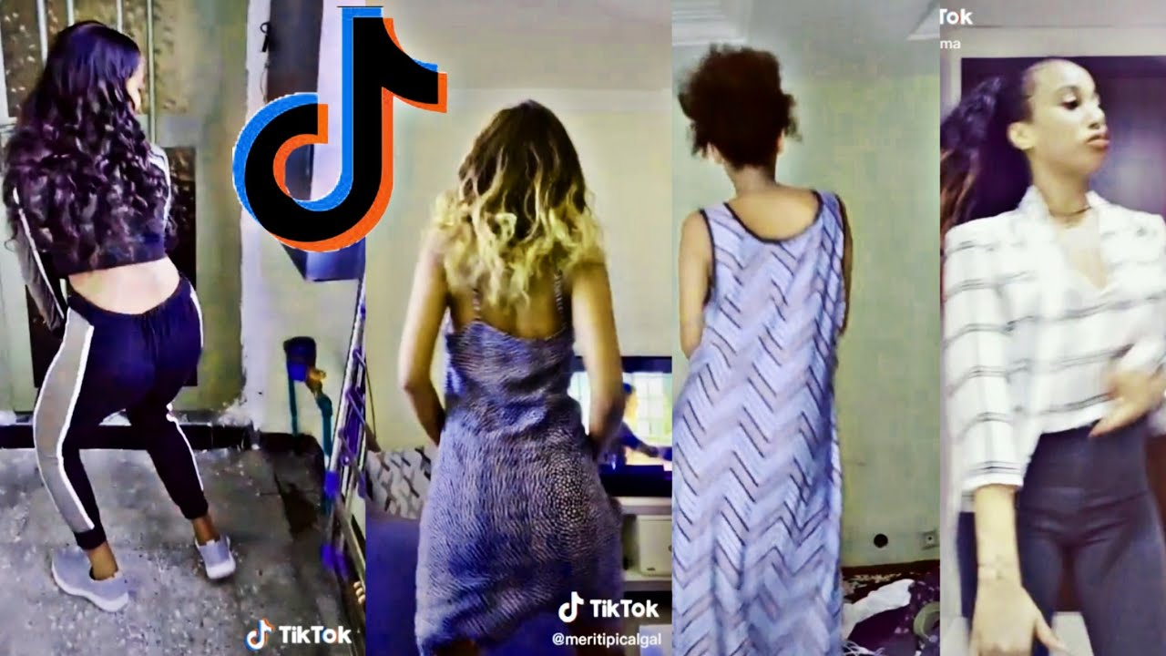 Tik tok-Ethiopian twerk dance compilation  rosa saron adisalem may 23,2020