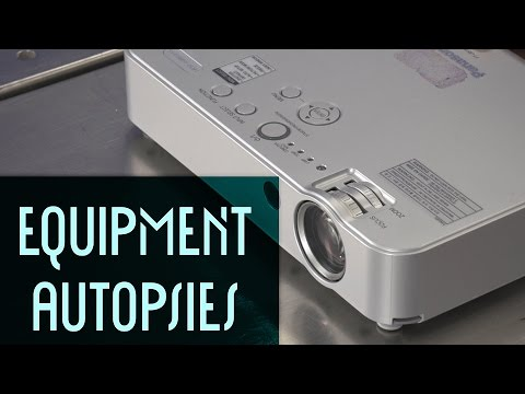 LCD Projector: Equipment Autopsy #83
