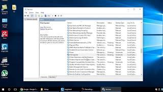 How to Restart Print Spooler Service in Windows 7/8/10