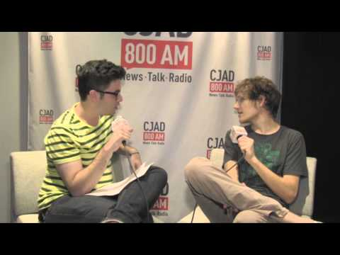 Bo Burnham  with Adam Shapiro