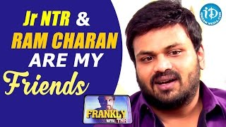 Jr NTR and Ram Charan Are My Close Friends - Manchu Manoj || Frankly With TNR || Talking Movies