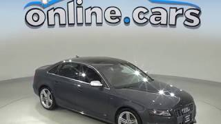 A99629YP Used 2010 Audi S4 3.0 Premium Plus Quattro 4D Sedan Gray Test Drive, Review, For Sale
