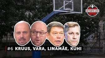 Betsafe LIVE #6: Kalev Kruus, Toomas Vara, Toomas Linamäe ja Keio Kuhi