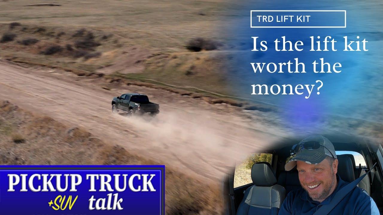 Surprise Improvement? 2021 Toyota Tacoma TRD Lift Kit Tested
