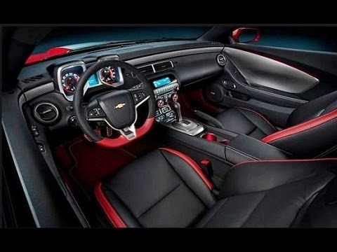 2016 chevrolet camaro z28 interior youtube