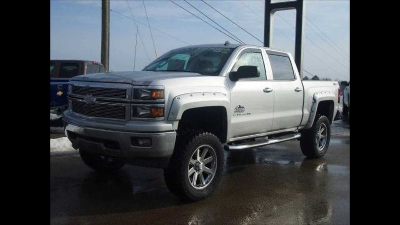 Chevy Lifted Trucks >> 2014 Lifted Chevy Silverado 1500 LT 4WD Crew Rocky Ridge ...
