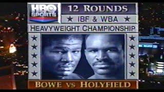 Bowe vs Holyfield II - ENTIRE HBO PROGRAM