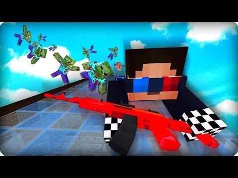 😨На волоске от смерти [ЧАСТЬ 40] Зомби апокалипсис в майнкрафт! - (Minecraft - Сериал)