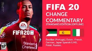 How to Change FIFA 20 Commentary Language (Arabic, Italian, Spanish, etc)