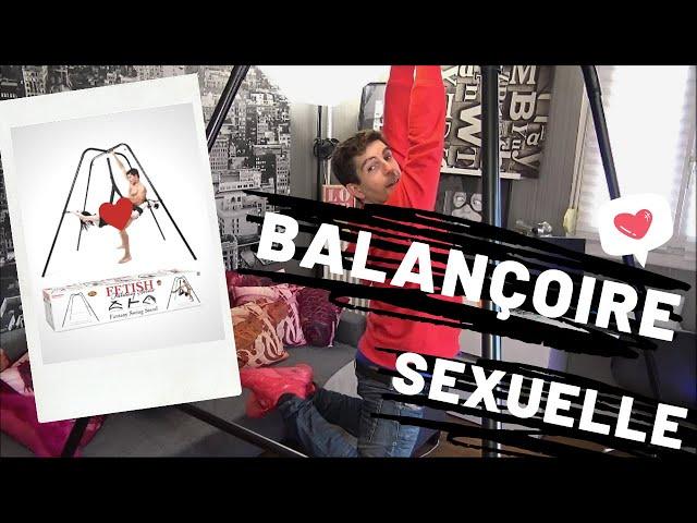BALANÇOIRE SEXUELLE (sex swings) : Conseils avant d'acheter un SLING