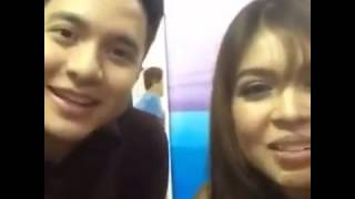 Alden and Maine, BackStage, kilig moment