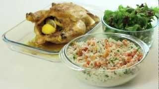 Badia Roasted Whole Chicken With Mustard And Parsley Rice