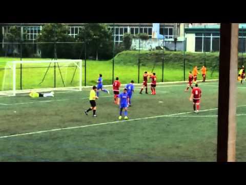 Santiago cf.Liga nacional juvenil 15/16.