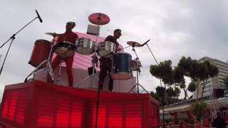Red Party Nikki Beach Mallorca 2016. BEAT ON AIR [ level 5 ]