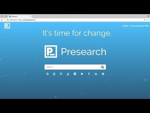 Presearch Intro