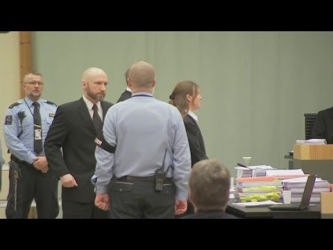 Mass murderer Anders Breivik loses human rights case