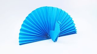 How to Make a Paṗer Peacock - Origami Peacock Easy