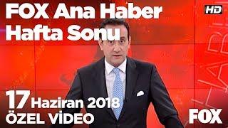 Bedelli askerlik tartışması...  17 Haziran 2018 FOX Ana Haber Hafta Sonu