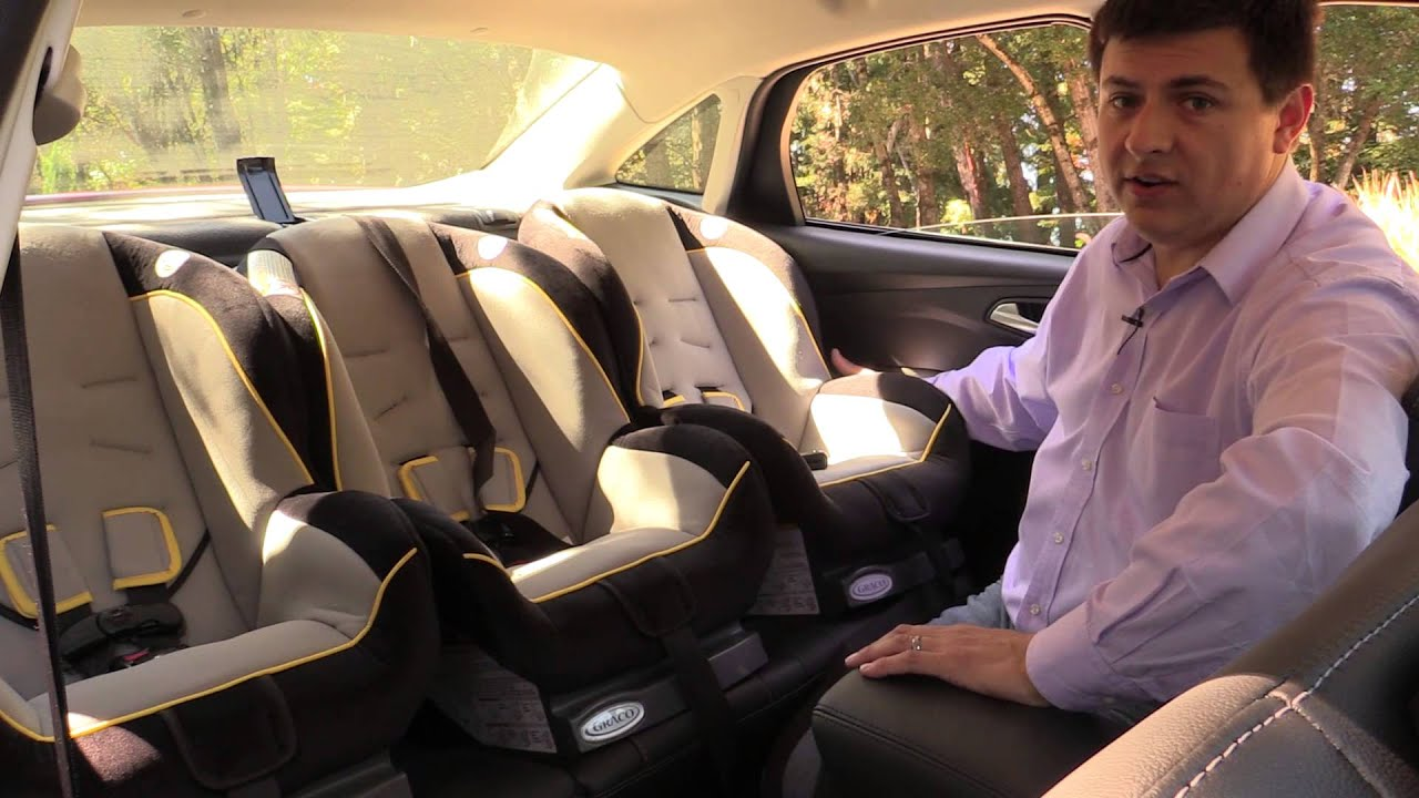 2014 Ford Focus Sedan Child Seat Review - YouTube