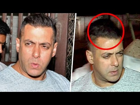 Salman Khans New Hair Style Look Video Youtube