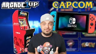 Capcom Has BIG Plans for Switch Owners + NEW Arcade1Up Machines!
