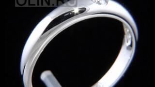 Обручальное кольцо с 1 бриллиантом(Обручальное кольцо изготовлено из белого золота 585 пробы и украшено 1 бриллиантом. Средний вес обручалки..., 2012-12-16T06:43:50.000Z)