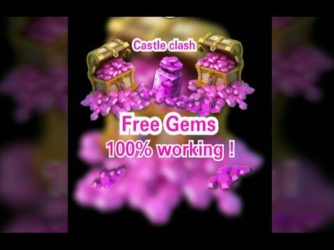 Castle Clash : Free Gems Working
