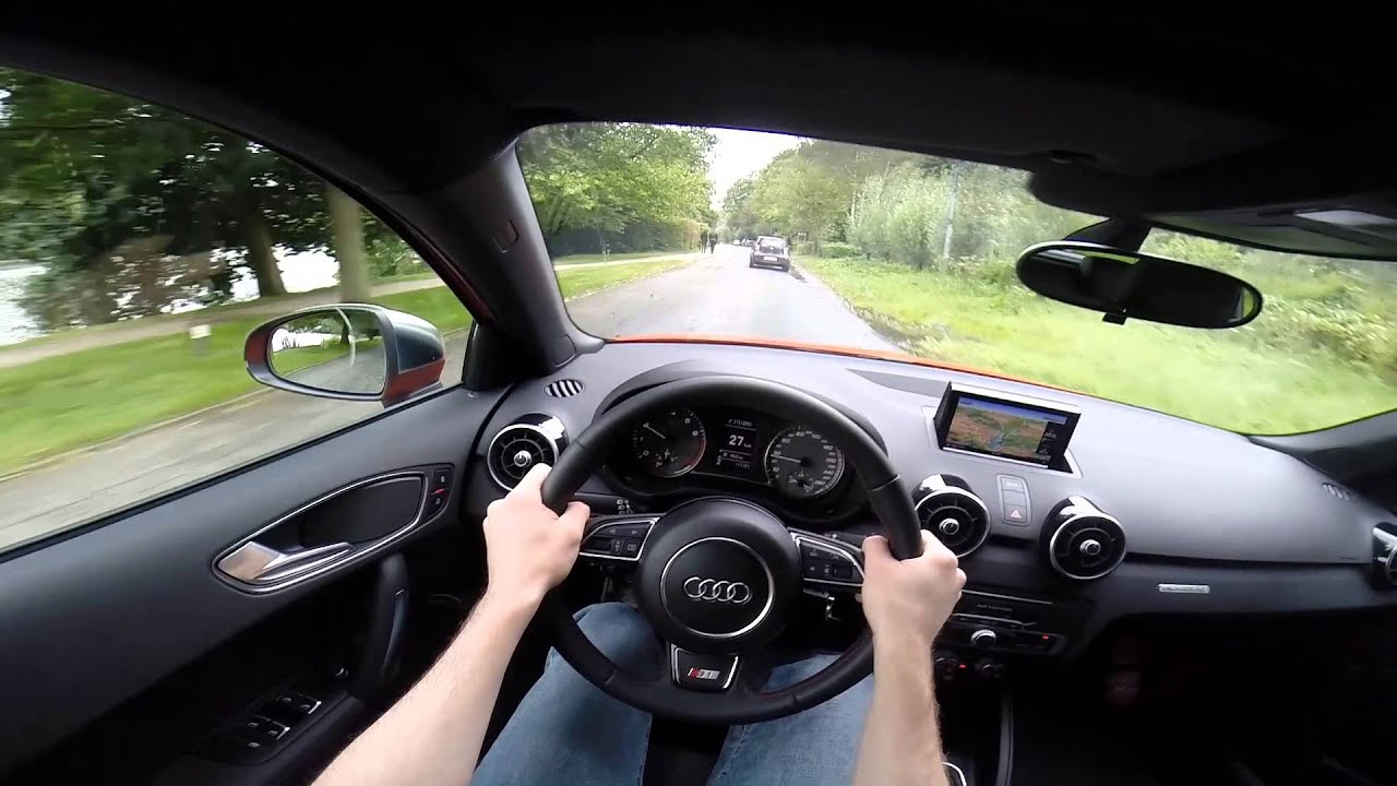 audi s1 sportback 231bhp quattro 2015 pov onboard test drive gopro youtube. Black Bedroom Furniture Sets. Home Design Ideas