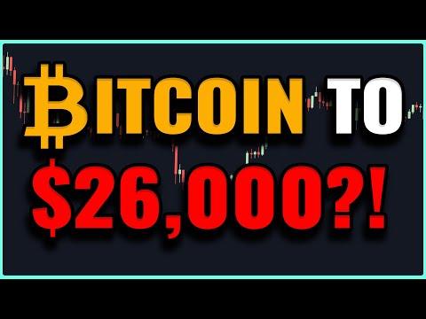 Will Bitcoin Drop To $26K?! - Bitcoin Price Prediction!