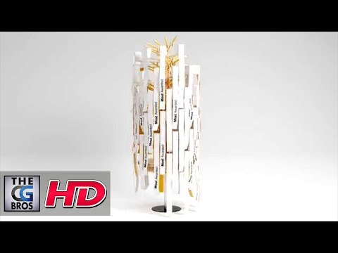 "CGI 3D Animated MoGraph HD: ""D&AD Awards Title Sequence"" - by The Mill"