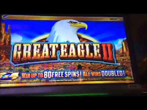 Introduction ~~ GREAT EAGLE II Video Slot ~~ San Manuel Casino