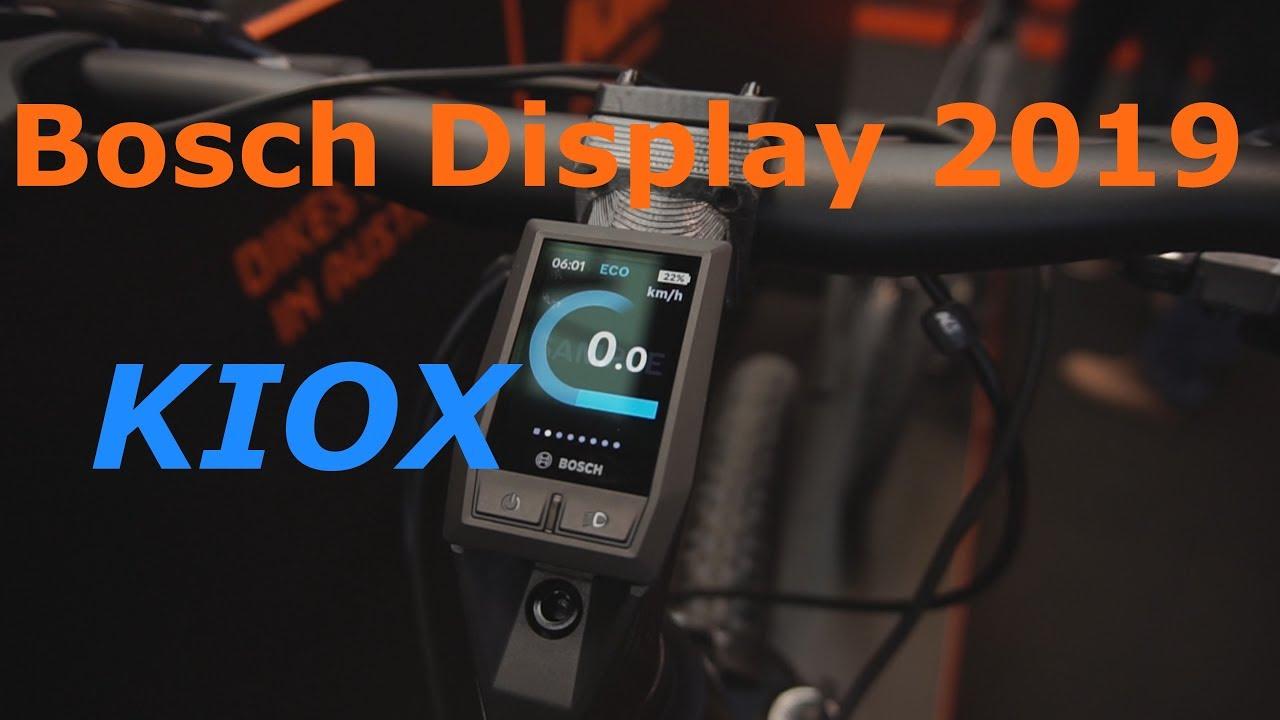 New Bosch Display Kiox 2019