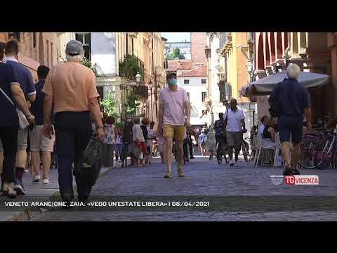 VENETO 'ARANCIONE', ZAIA: «VEDO UN'ESTATE LIBERA»   06/04/2021