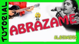 Abrazame - Alejandro Fernandez - Como tocar en guitarra