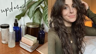 Zero Waste Hair Care Routine 2019 | vegan plastic free products | styling & growth tips