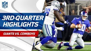 Giants vs. Cowboys Third-Quarter Highlights | NFL Week 1